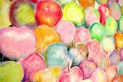 Fruta multicolora Foto de archivo