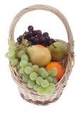 Fruta na cesta Imagens de Stock