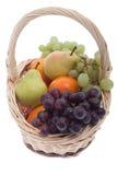 Fruta na cesta Foto de Stock