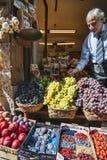 Fruta para la venta en Siena Italia Foto de archivo libre de regalías