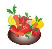 Fruta-pedazo Foto de archivo libre de regalías