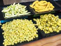 Fruta preservada Imágenes de archivo libres de regalías