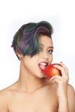 Fruta prohibida Imagenes de archivo