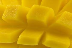 Fruta rebanada del mango Imagen de archivo