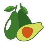 Fruta resumida historieta Foto de archivo libre de regalías