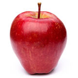 Fruta roja de la manzana Imagen de archivo libre de regalías