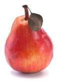 Fruta roja de la pera Imagenes de archivo