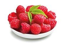 Fruta sabrosa de la frambuesa Imagen de archivo libre de regalías