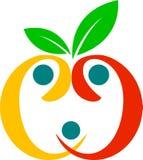 Fruta sana de la familia Imagen de archivo