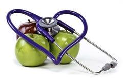 Fruta sana del corazón Fotografía de archivo