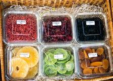 Fruta seca Fotografia de Stock Royalty Free