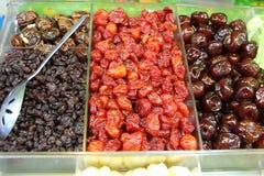Fruta seca Fotografia de Stock