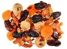 Fruta seca de la mezcla Imágenes de archivo libres de regalías