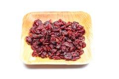 Fruta secada da airela Imagem de Stock
