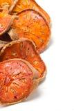 Fruta secada de Bael. fotos de archivo libres de regalías