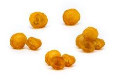 Fruta secada del longan Imagen de archivo libre de regalías