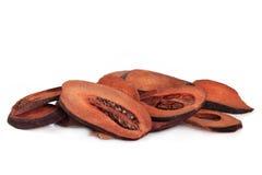 Fruta secada del membrillo foto de archivo libre de regalías