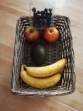 Fruta sonriente fotografía de archivo