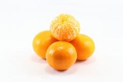Ensalada con mandarinas y vinagreta de menta, cilantro