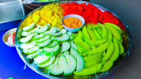 Fruta tailandesa Foto de Stock