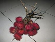 Fruta tropical dulce y gusto fresco, separado y crecido extensamente en Asia Fuente de vitaminas y de salud imagenes de archivo
