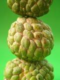 Fruta verde 4 imagens de stock