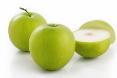 Fruta verde de la azufaifa Fotografía de archivo