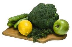 fruta verde de las verduras fotografía de archivo