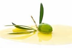 Fruta verde oliva Imagen de archivo