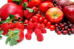 Fruta vermelha Imagem de Stock
