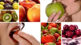 Fruta, vitaminas, salud, belleza metrajes