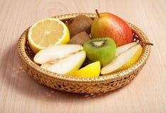 Fruta y fruta cítrica Fotografía de archivo