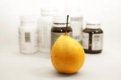 Fruta y salud Foto de archivo