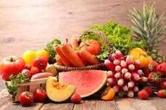 Fruta y verdura fotografía de archivo libre de regalías