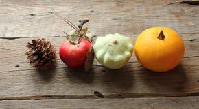 Fruta y verdura del otoño Foto de archivo libre de regalías