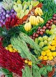 Fruta y verduras Foto de archivo