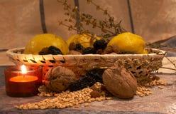 Frutas 2 del otoño Foto de archivo libre de regalías