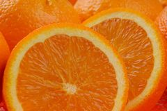 Frutas alaranjadas Imagem de Stock Royalty Free