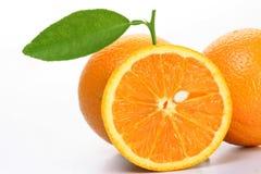 Frutas alaranjadas frescas Imagem de Stock