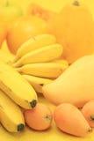 Frutas amarillas Imagen de archivo libre de regalías