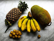 Frutas asiáticas Imagem de Stock