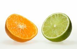Frutas cítricas agridulces Imágenes de archivo libres de regalías