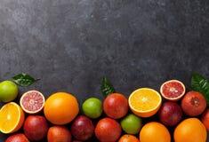 Frutas cítricas frescas Imagen de archivo