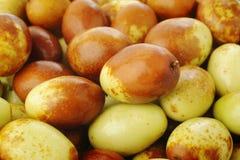 Frutas chinas de las azufaifas Imagen de archivo