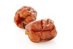 Frutas chinas secadas de las azufaifas Imagen de archivo
