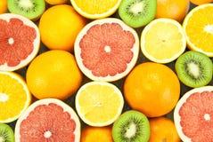 Frutas clasificadas Foto de archivo libre de regalías