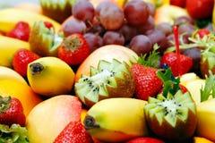 Frutas coloridas Imagens de Stock