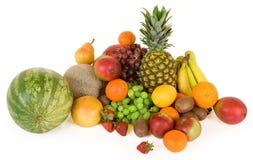 Frutas coloridas imagem de stock