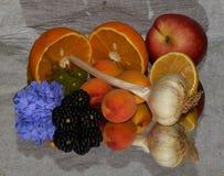 Frutas coloridas Imagem de Stock Royalty Free