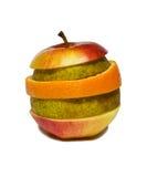 Frutas cortadas Imagens de Stock